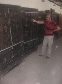 Florio seleziona gli armadi Shanxi in lacca nera