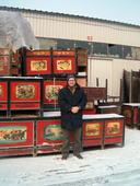 Florio fra mobili Mongolia, a 15° sotto zero...