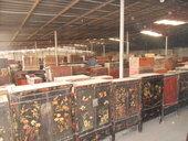 Magazzino di armadi cinesi dello Shanxi