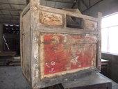 ... dopo il restauro sarà uno splendido mobile etnico!