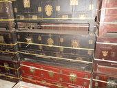 Cassapanche tradizionali di Tianjin con ante e cassetti