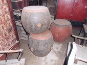 Tre tamburi cinesi antichi