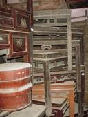 Questi tavolini impilati sono tutti otiimamente conservati