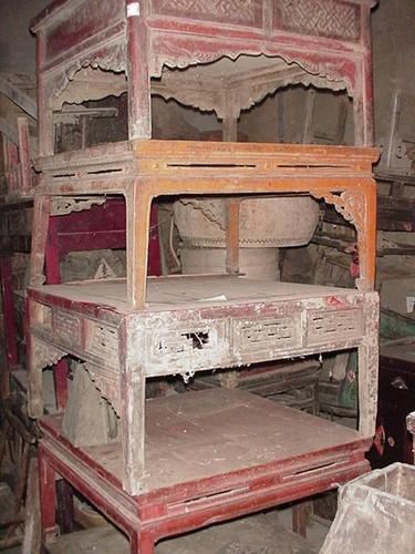 Latitudini mobili restauro di mobili etnici antichi orientali cinesi tibetani mongoli - Mobili cinesi laccati ...