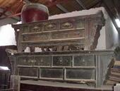 Panche altare cinesi con intagli, poco restauro e sono già pronte!