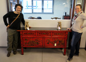 Credenza Consolle Cinese