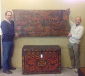 Walter E Florio Con Pannello Tibet
