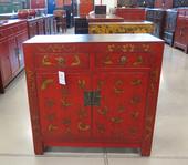 Credenzino Cinese Lacca Decorata
