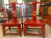Sedie Cinesi Basse Laccate