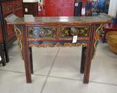 Console Cinese Ad Altare Decorata