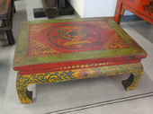 Tavolinetto Tibet Decorato