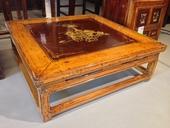 Tavolino Cina In Lacca Decorata (Ganzu)