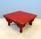 Tavolino Lacca Rossa Cinese