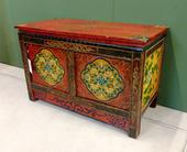 Tavolino Tibet Da Preghiera Con Antine