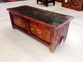 Tavolino Tibet Da Preghiera Con Cassetto