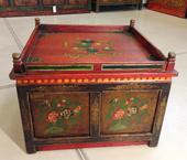 Tavolino Tibet Quadro Con Antine