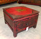 Tavolino Tibet Quadro Con Cassetto