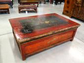 Tavolino Qinghai Lacca Decorata