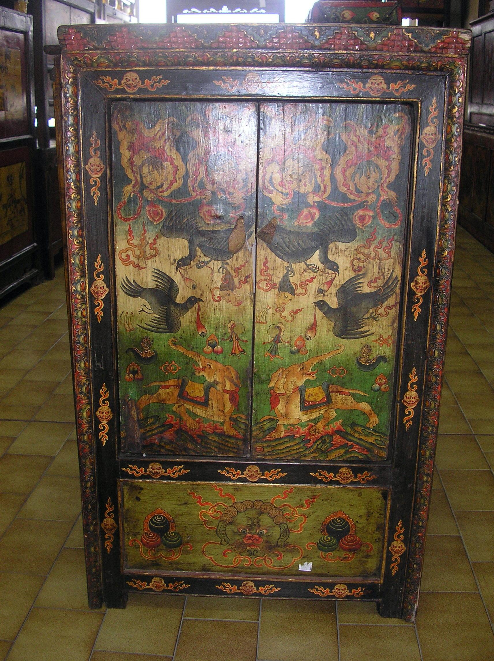 Latitudini mobili le tipologie dei mobili tibetani - Cornice dei mobili ...