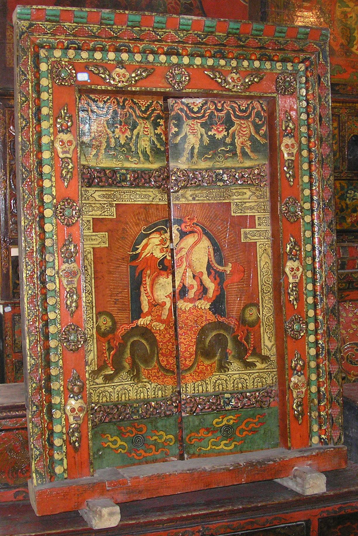 Latitudini mobili le tipologie dei mobili tibetani - Mobili tibetani antichi ...