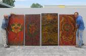 Porte Tibetane   Pannelli Tibetani
