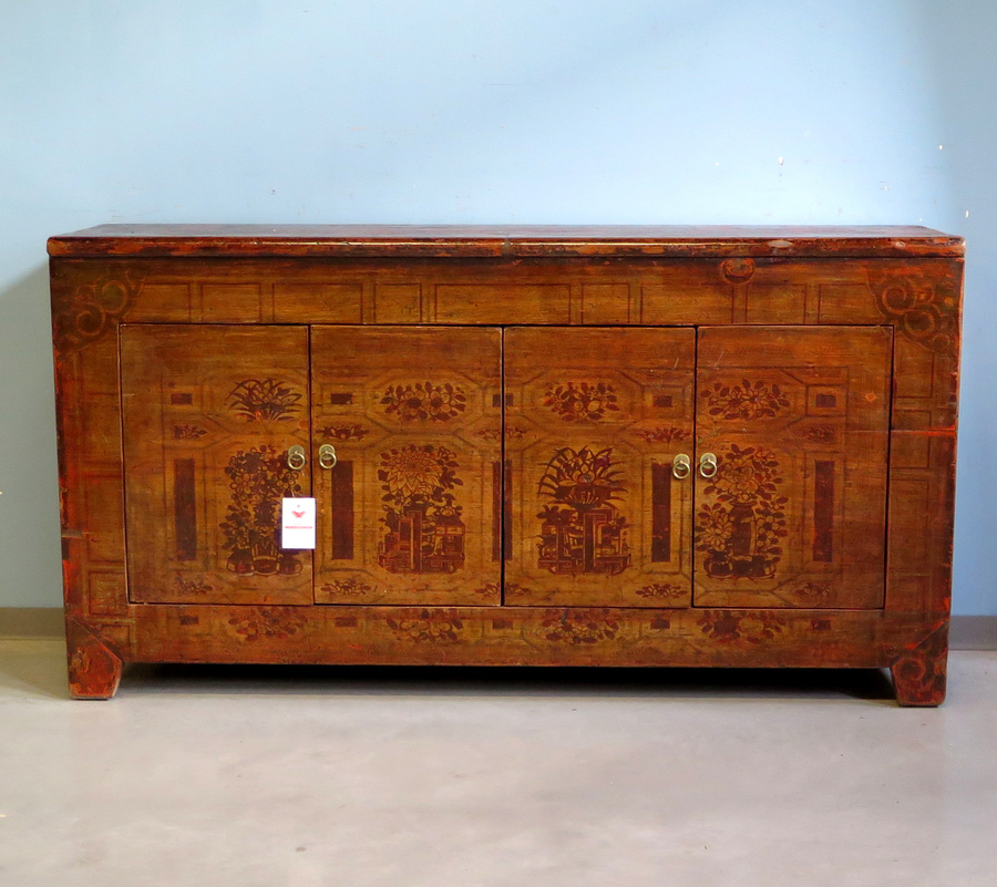 Buffet cinese decorato del dongbej credenze madie for Sideboard 09003