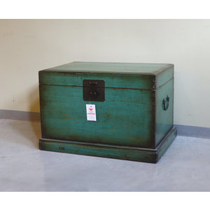 BAULI - BAULE GANZU VERDE CON BASE  - BB-09094