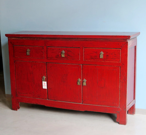 CREDENZE, MADIE - BUFFET CINESE LACCA ROSSA - CM-09410