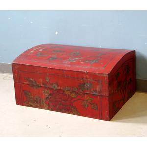 BAULI - GRANDE SCATOLA CINESE DELLO SHANXI DECORO FARFALLE - BB-09883